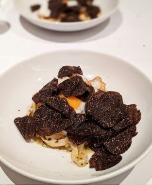 Sam Young's Dashi Butter Tagliatelle With Truffle