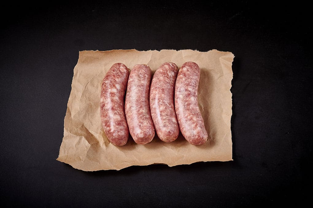 Free Range Pork Toulouse Thick Sausages