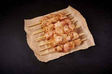 Lemon & Oregano Chicken Breast Kebabs