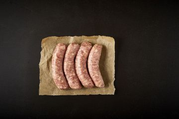 Pork & Apple Cider Thick Sausages