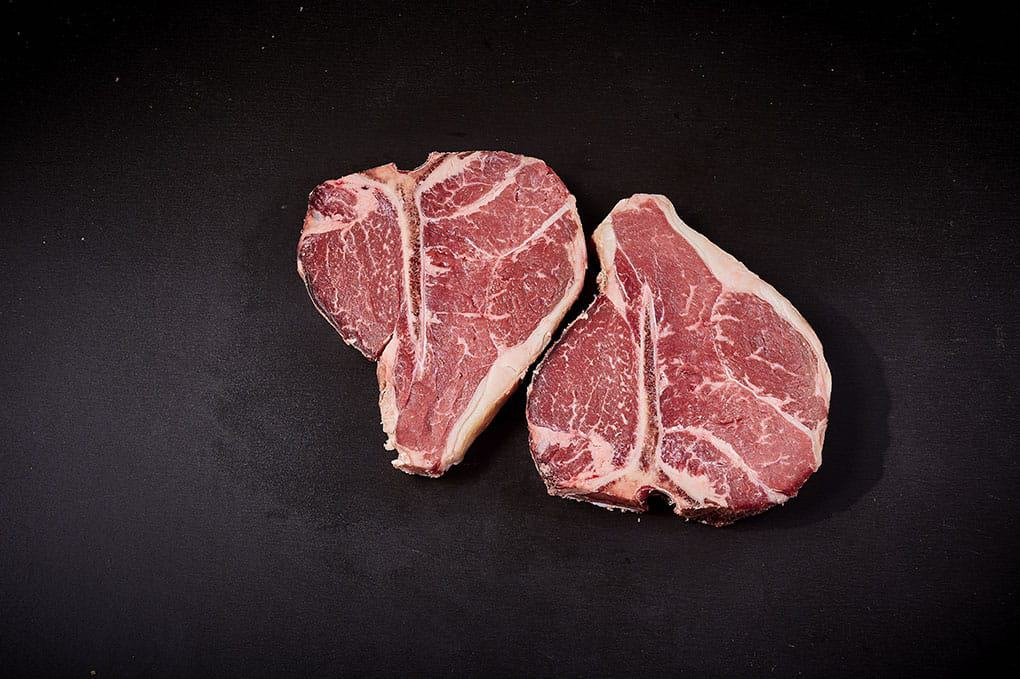 28 day 'Dry Aged' Grassland Premium Pasture Fed T-Bone Steak