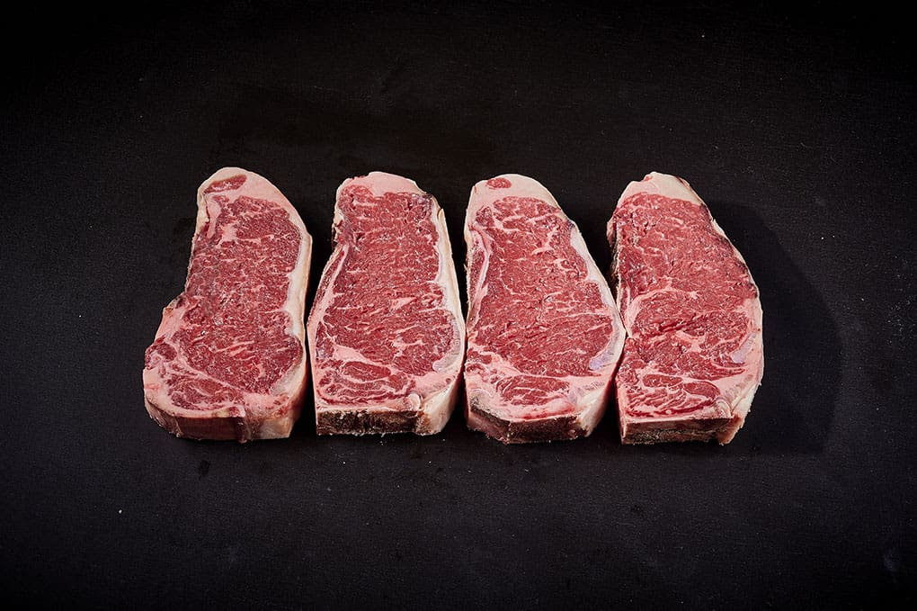 28 day 'Dry Aged' Riverine Premium MB 2+ Sirloin Steak on the Bone 350g
