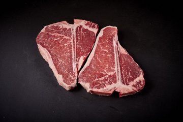 Grasslands Premium Pasture Fed T-bone Steak 400g