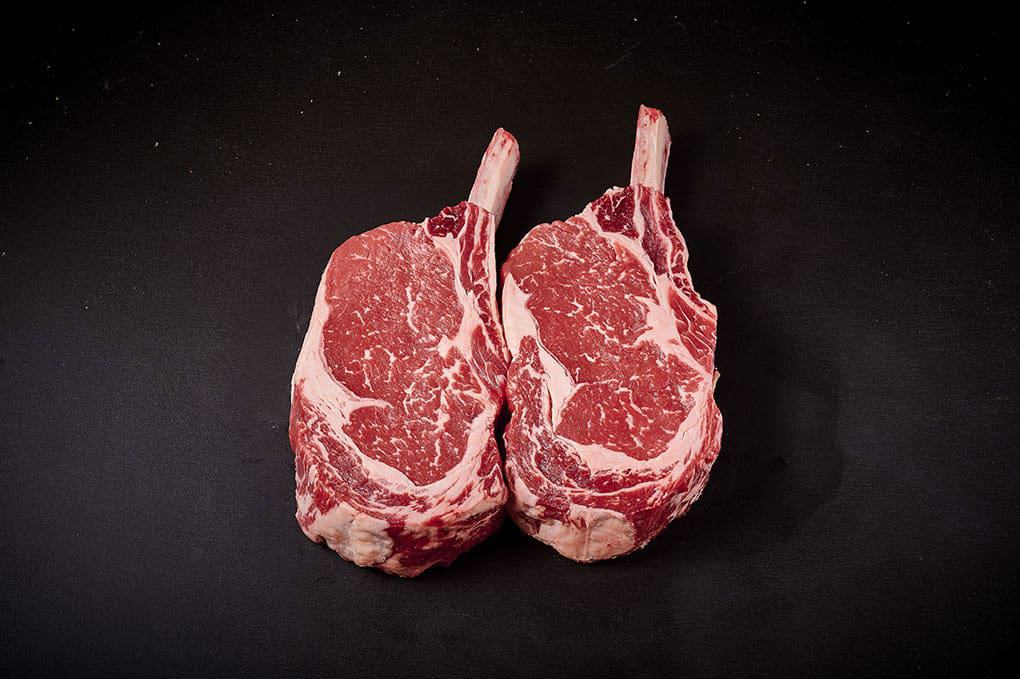 Jack's Creek Black Angus Rib Eye Steak on the bone 800g